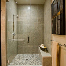 Contemporary Bathroom by Angela Todd Designs, Portland, OR