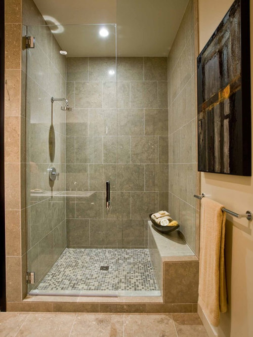 Tile Shower Replacement | Houzz