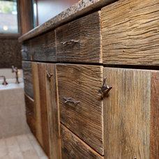 Rustic Bathroom by Hurst Design Build Remodeling