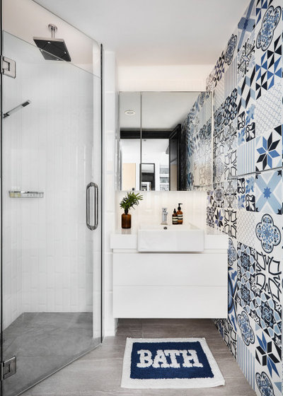 Contemporary Bathroom by AMP DESIGN CO. PTE.LTD