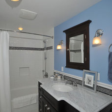Traditional Bathroom by REIER Construction