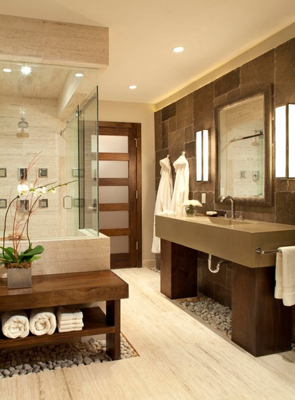 Contemporary Bathroom by Ashley Campbell Interior Design