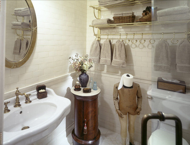 traditional bathroom by Peter S. Balsam Associates