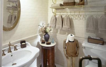 Badrumsförvaring: 18 sätt att göra din toalettrulle rolig