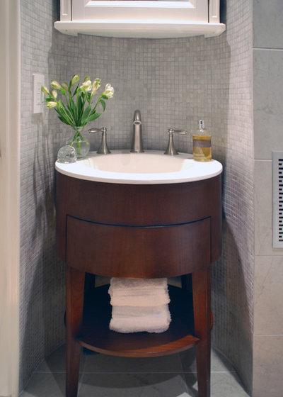 5 Small Bathrooms That Stretch Design Imagination