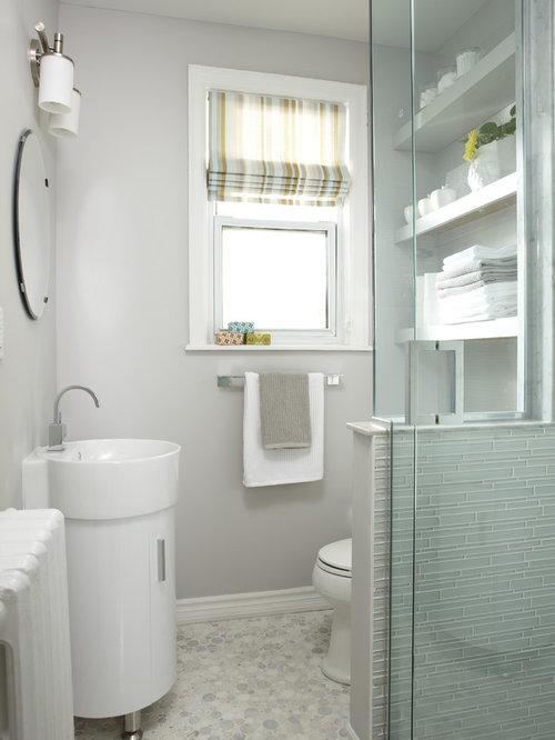 Toilet Half Wall Houzz