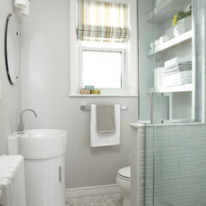 Contemporary Bathroom by Jo Alcorn
