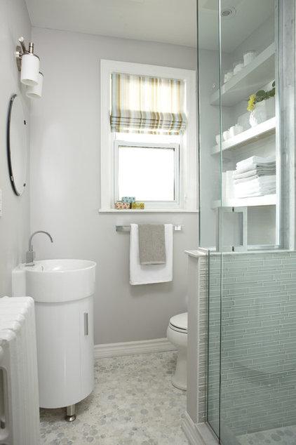 Contemporary Bathroom by Jo Alcorn
