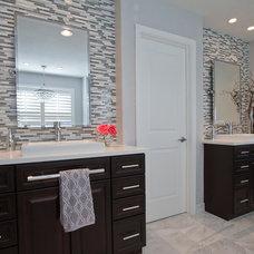 Modern Bathroom by Shawna Jaramillo