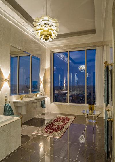 北欧 浴室 by Louis Poulsen USA
