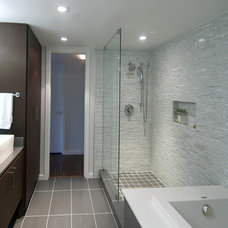 Contemporary Bathroom by Intexure Architects