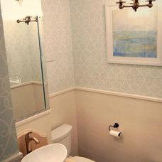 Traditional Bathroom by Lampada's Design LLC
