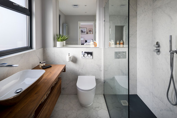 Contemporary Bathroom by MODEL Projects Ltd