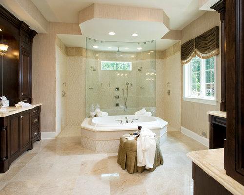 Shower Behind Tub Houzz