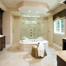 Traditional Bathroom by Guidi Homes