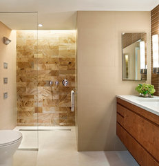 contemporary bathroom by k YODER design, LLC
