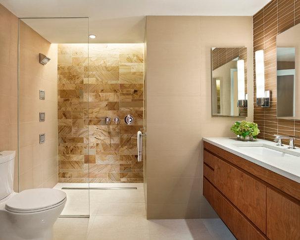 Contemporary Bathroom by k YODER design, LLC