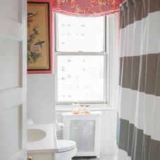 Eclectic Bathroom by Caitlin Wilson