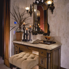 Mediterranean Bathroom by Kittrell & Associates Interior Design