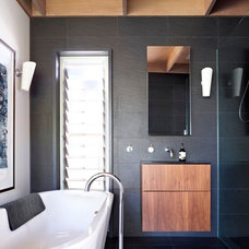 Contemporary Bathroom by Maddison Architects