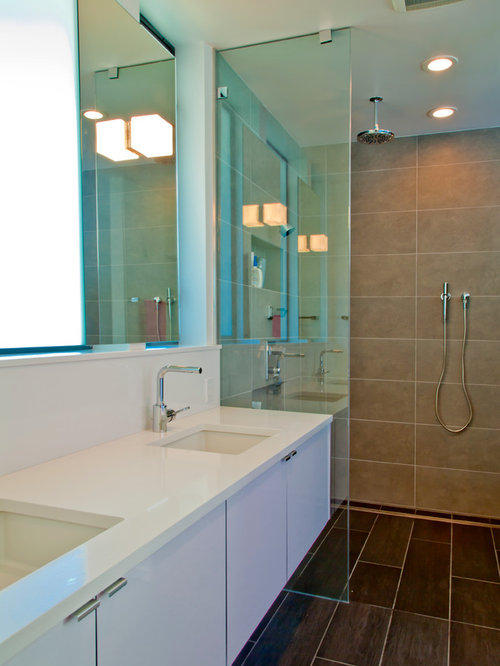 No Curb Shower Houzz