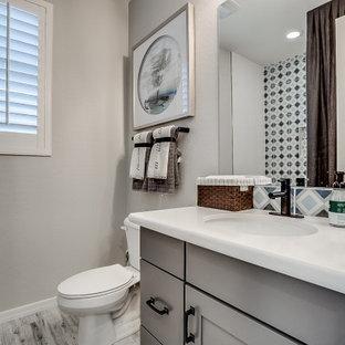 Phoenix, Arizona | Lucero in Estrella - Castillo Clover Secondary Bathroom