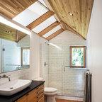 Santa Monica Garage Conversion Transitional Bathroom Los Angeles By Spazio La