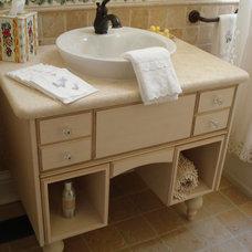 Traditional Bathroom by Angela Otten; WmOhs Showrooms Inc