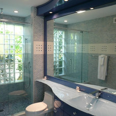 Contemporary Bathroom by B. W. Interiors Chicago