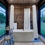 Hinman Creek Rustic Bathroom Denver By Kelly