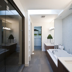 contemporary bathroom by Fifth Element Homes