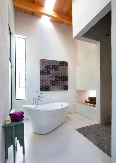 Mediterraneo Stanza da Bagno by House + House Architects