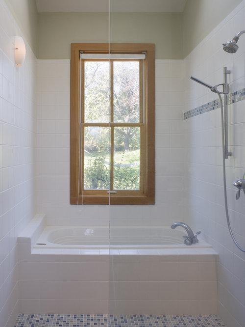 Example Of A Trendy Mosaic Tile Bathroom Design In San Francisco