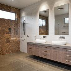 Contemporary Bathroom by Earp Bros - Innovative Tile Solutions