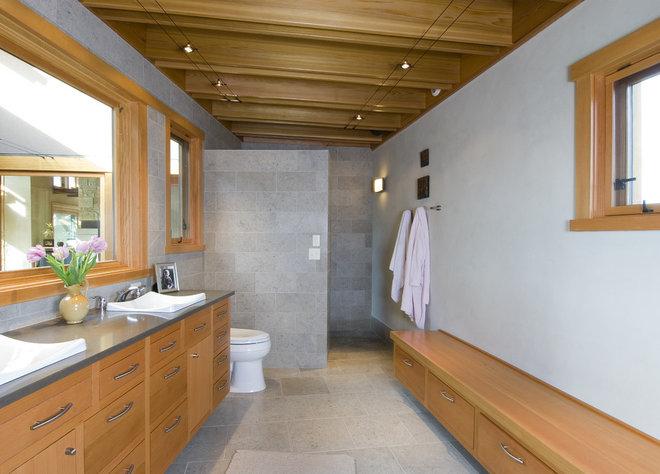 Contemporary Bathroom by Christian Gladu Design