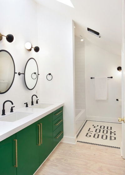 Contemporáneo Cuarto de baño by Siren Spaces