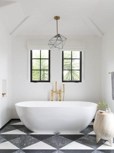 Contemporary Bathroom by Katie Martinez Design