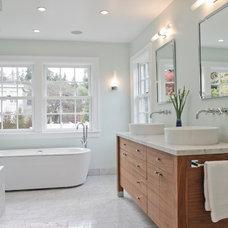 Bathroom by Wm. F. Holland/Architect