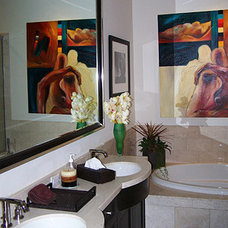 Contemporary Bathroom by pierre senechal