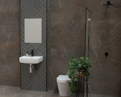 Save. Pietra Grey Marble Bathroom