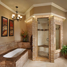 Traditional Bathroom by McHenry Construction Group, Inc.