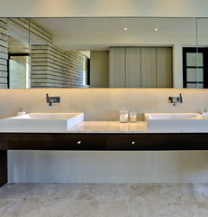 contemporary bathroom by John Senhauser Architects