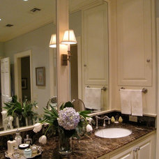 Traditional Bathroom by Virginia W. Kelsey, AIA