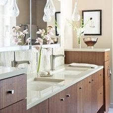 Asian Bathroom by MLH Designs,Inc