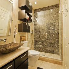 Modern Bathroom by JMC Designs llc
