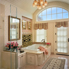 Traditional Bathroom by Debra J Interiors