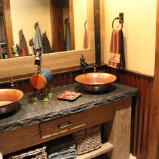 Traditional Bathroom by Granite and Marble Designs