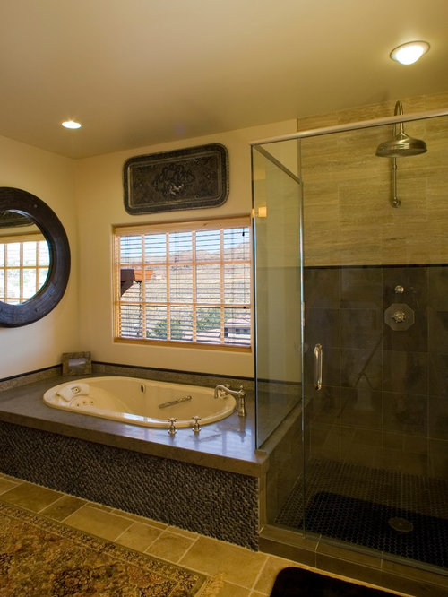 Tropical las vegas bathroom design ideas remodels photos for Las vegas bathroom remodeling companies