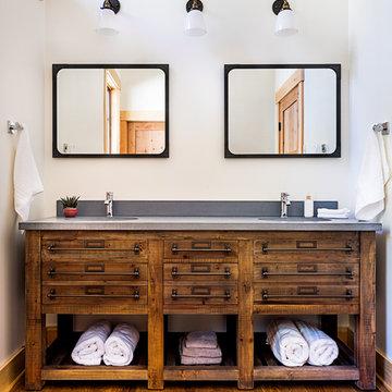 Piseco Lake Residence- Bathroom Sink