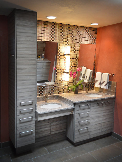 Bathroom Remodel Albuquerque Minimalist 10 all-time favorite modern bathroom with orange walls ideas